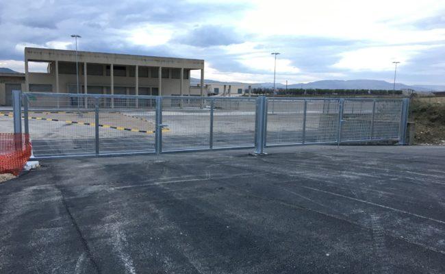 Cancello con Grigliato